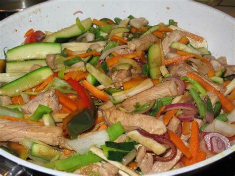 recette cuisine chinoise sauté de porc aux légumes à la chinoise recette