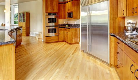 kitchen ideas with hardwood floors kitchen flooring ideas most popular designing idea 9387