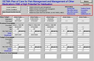 Setmacom epm tools pain management tutorial for Pain management templates