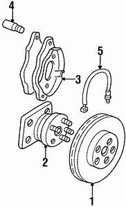 Buick Lesabre Disc Brake Caliper  Suspension  Components