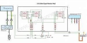 Toyota 4runner Blind Spot Monitor Mod