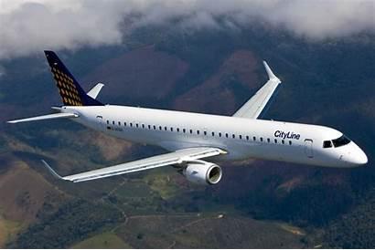 Embraer Lufthansa Aircraft Airplane Jet Airliner Transport