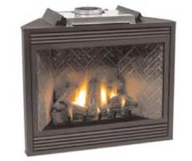 Corner Gas Fireplaces Direct Vent corner direct vent tahoe deluxe 32 fireplace complete