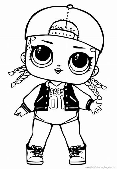 Lol Doll Surprise Coloring Pages Swag Diva