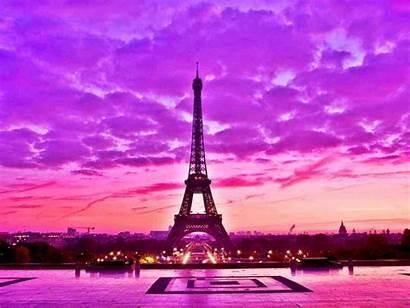 Paris Pink Background Desktop Android France Eiffel