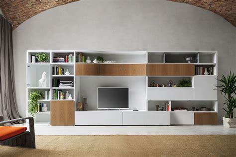 libreria lecco parete attrezzata con libreria componibile e porta tv