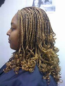 Individual Braids with Curly Ends | New Natural Hairstyles