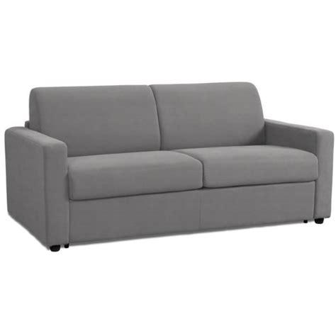 canapé lit bz couchage quotidien canapé lit convertible rapido 140 190 14cm gris
