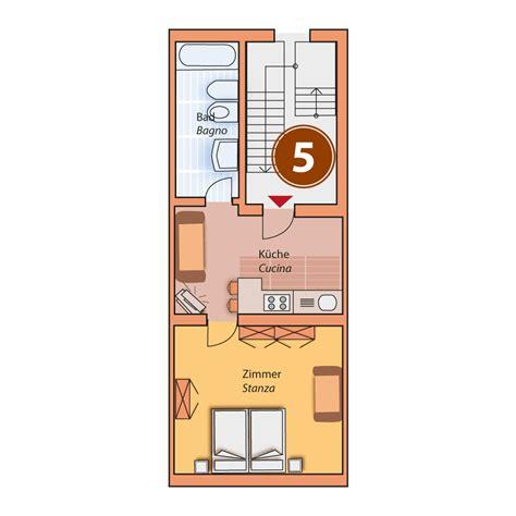 Appartamenti V by Appartamento Per 2 3 Persone In Val Pusteria Residence