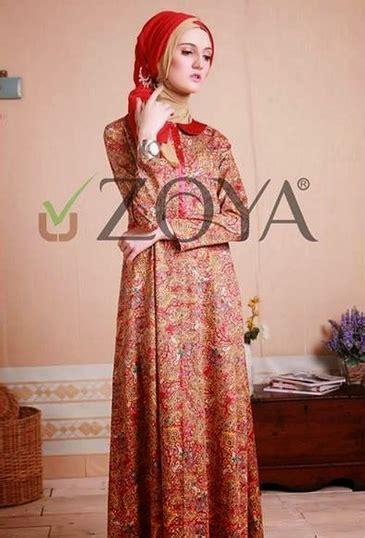 Harga Baju Gamis Merk Zoya model baju batik zoya