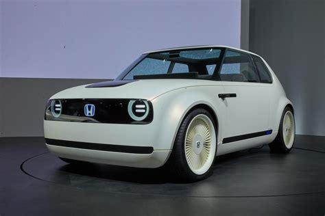 Car Design Concepts : Honda Sports Ev And Urban Ev Concepts Reveal Future-retro