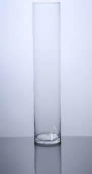 cylinder glass vases pc420 cylinder glass vase 4 quot x 20 quot 6 p c cylinder glass