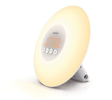 full spectrum light alarm clock amazon com philips wake up light with sunrise simulation