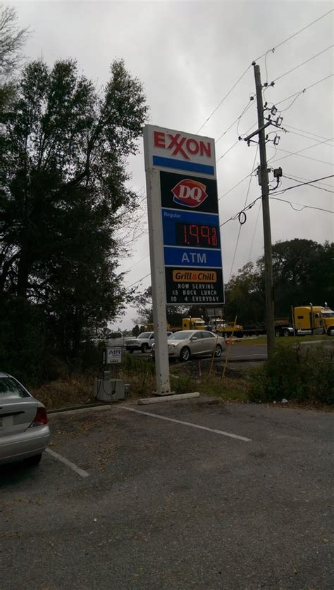 flagship exxon gas stations  scenic hwy pensacola