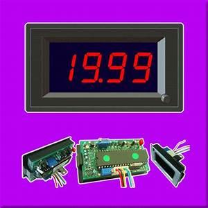12v 20v 20a Dc Led Digital Solar Panel Current Amp Meter