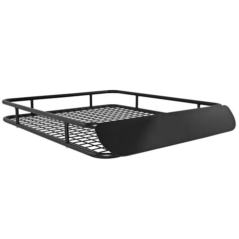 roof racks for cars apex steel roof cargo basket with wind fairing 48 1 2 quot l