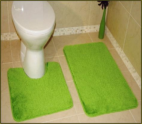 lime green bathroom rugs  web