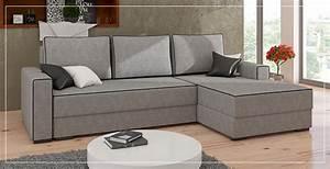 Canapé D Angle Gris Pas Cher : canap d 39 angle gris pas cher sofamobili ~ Melissatoandfro.com Idées de Décoration
