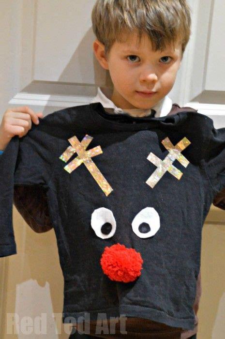 easy diy christmas jumper  kids malyshnya kids