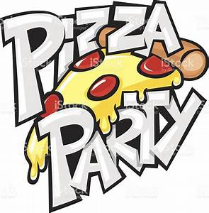 Pizza Party Stock Vector Art & More Images of Cartoon ...