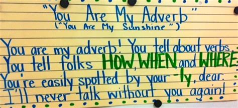 Adverb Song  We Sang This And The Kids Loved It  Readingela  Pinterest  The Kid, The O
