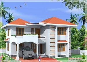 1800 sq feet 2 storey home design