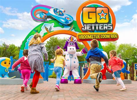 Go Jetters Vroomster Zoom Ride | Alton Towers Resort