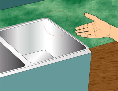 caulk kitchen sink how to caulk the kitchen sink wikihow