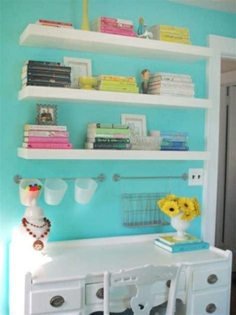 chambre blanche et turquoise 24 idées pour la décoration chambre ado