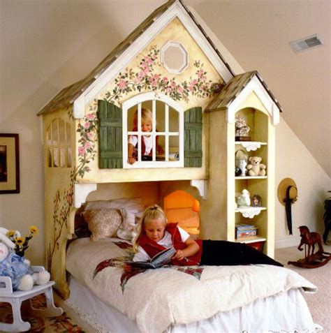dollhouse loft bed themed beds  tanglewood design