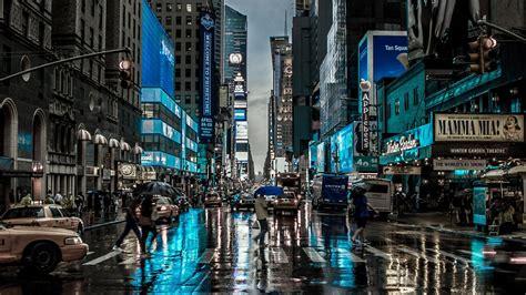 rainy day   york city wallpaper wallpaper studio