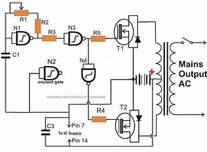Only Wiring And Diagram  How To Make A Simplest 150 Watt