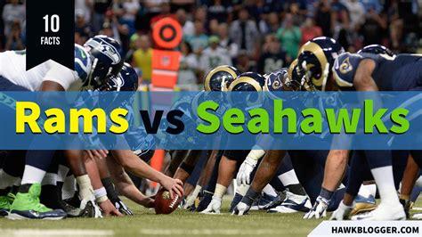 facts     rams  seahawks hawk blogger