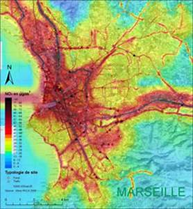 Carte France Pollution : lyon marseille paris la pollution de l 39 air quartier par quartier ~ Medecine-chirurgie-esthetiques.com Avis de Voitures