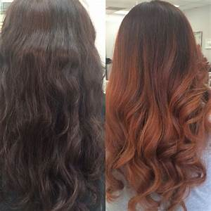 Ombré Hair Auburn : dark brown auburn ombre my work hair artist pinterest auburn ombre auburn and dark brown ~ Dode.kayakingforconservation.com Idées de Décoration