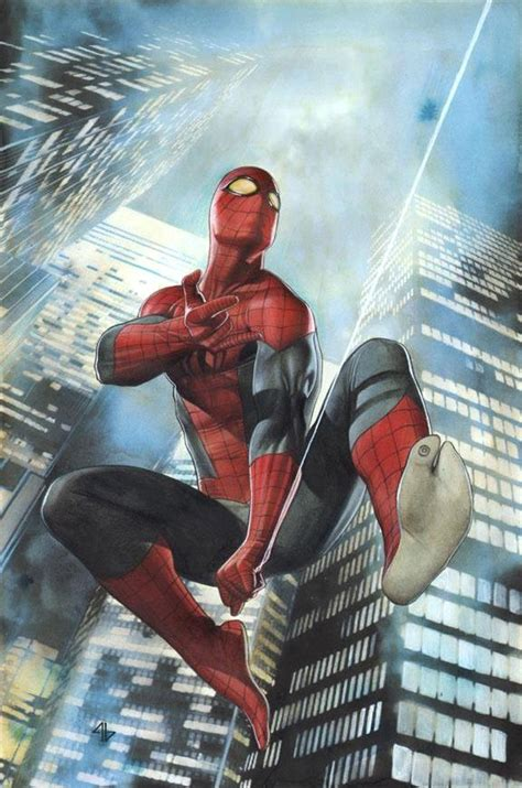 Superior Spiderman #1  Variant Cover Painting By Adi