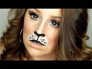 Cat/Lion Halloween Makeup Tutorial