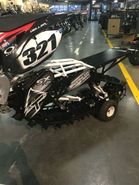 honda crf  timbersled sx  rare snow check