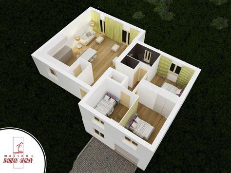 plan maison etage 3 chambres gratuit neuvilière maison moderne à demi niveau