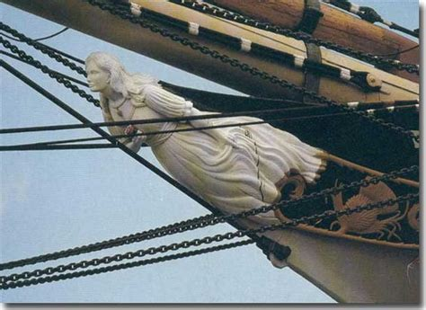Ship Figurehead by Falls Of Clyde