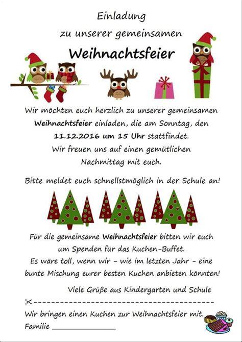 einladung charmant einladung zur weihnachtsfeier texte