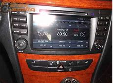 Mercedes w211 multimédia autóhifi beszerelés