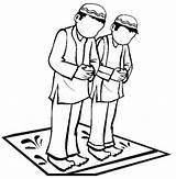 Coloring Islamic Mewarnai Praying Muslim Islam Coloriage Masjid Ramadan Islami Lomba Studies Gambar Mosque Colouring Salat Malvorlagen Musulman Belajar Prayer sketch template