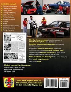 Datsun 240z  260z  280z Repair Manual 1970