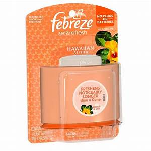 Febreze Set and Refresh 0.18 oz. Hawaiian Aloha Cartridge ...
