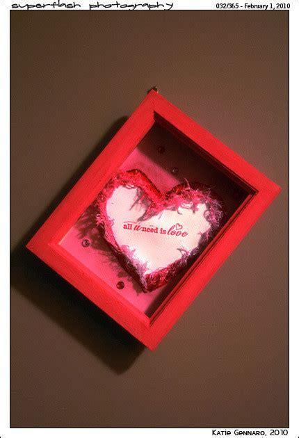 valentines shadow box     shadow box