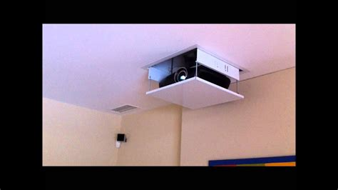 installation dun ecran  videoprojecteur youtube