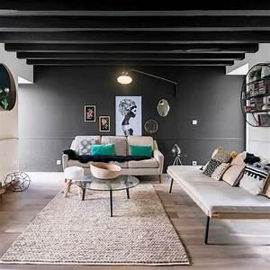 Deco Salon Contemporain : deco salon industriel vintage ~ Melissatoandfro.com Idées de Décoration