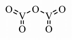 Vsepr Of Vanadium Pentoxide   Chemhelp