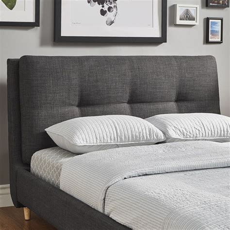Plush Headboard by Dallan Plush Tufted Padded Headboard Bed By Inspire Q